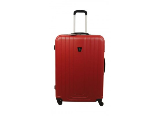66286000e US Polo PLVLZ7518A Hard Case Carry-on Travel Luggage, 4.5 KG, Red ...