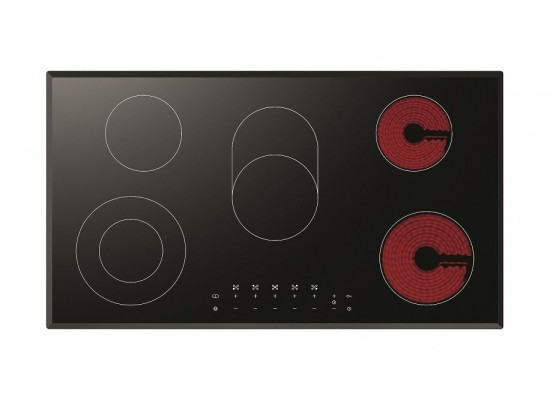 Lofra Venere 90cm Ceramic Electric Hob Top view