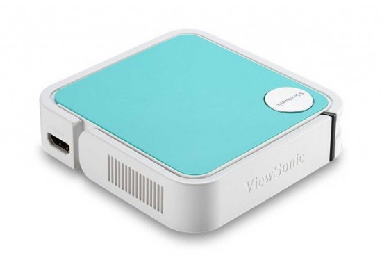 ViewSonic M1 Mini + WVGA-120 L-500:1 Pocket LED Ultra-Portable Projector