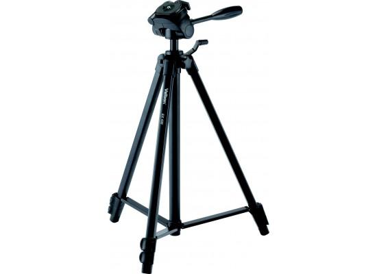 Velbon EX-430 Aluminum Pan Head Tripod - Black