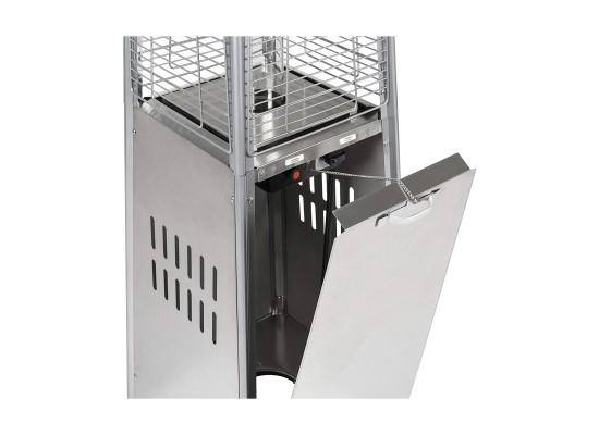 Wansa Pyramid Patio Heater (W-1501) - Stainless Steel