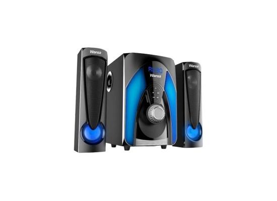 Wansa 90W 2.1 Mini System (TK-1202) - Black