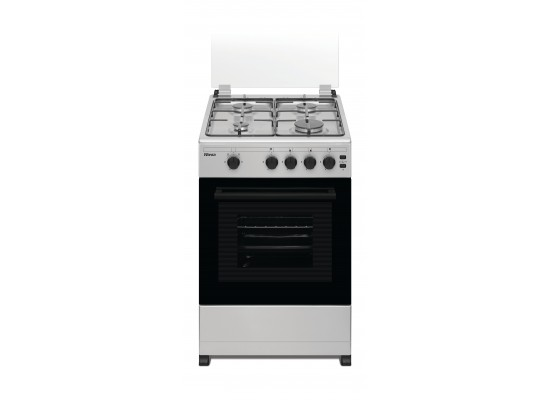 Wansa 50X50cm 4 Burner Gas Cooker (WCT4401XS) - Stainless Steel