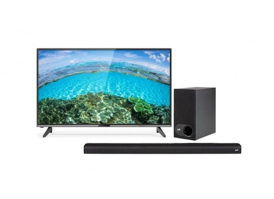 Wansa 65 inch 4K Ultra HD Smart LED TV WUD65G8862S + Polk Audio Signa 2 Wireless Soundbar