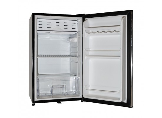Wansa 4 Cft Single Door Mini Refrigerator – Stainless Steel