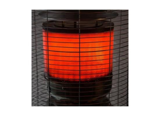 Wansa Steel Patio Heater 12W (W-1209) - Black