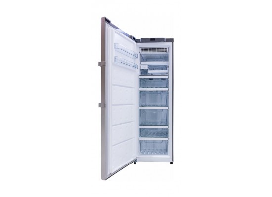 Wansa 12 Cft Upright Freezer (WUOD338NFSSC6) - Stainless Steel