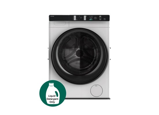 Toshiba 10KG 16 Programs Front Load Washing Machine (TW-BH110W4B) - White