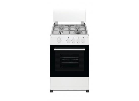 Wansa 50x50 cm 4-Burner Floor Standing Gas Cooker (WCT4403XW)