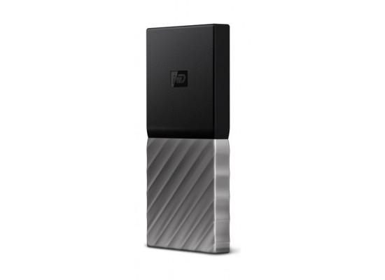 WD 256GB My Passport USB 3.1 Portable Hard Drive - Silver