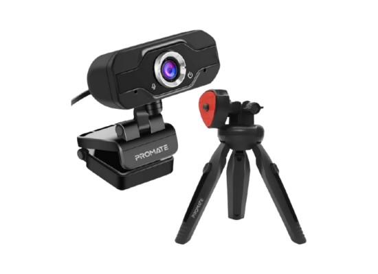 Promate Full HD USB Webcam With Tripod (ProCam-1)