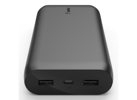 Belkin Boost Charge 20000mAh Power Bank – Black