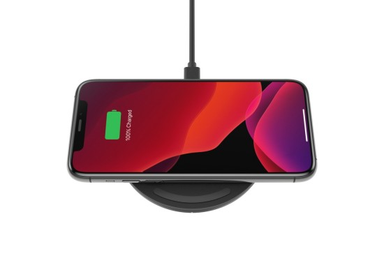 Belkin Boost Charge 10W Fast Wireless Charging Pad - Black