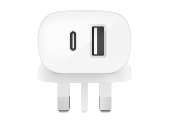 Belkin Boost Charge USB-C + USB-A 30W Wall Charger