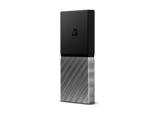 Western Digital My Passport 1TB USB 3.1 Portable SSD - Black/Silver 2