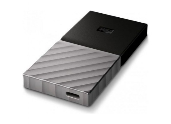 Western Digital My Passport 1TB USB 3.1 Portable SSD - Black/Silver 5