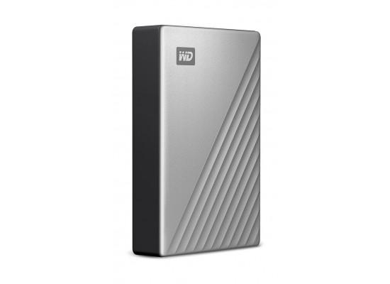 Western Digital My Passport 4TB Ultra Hard Drive (WDBFTM0040) - Grey