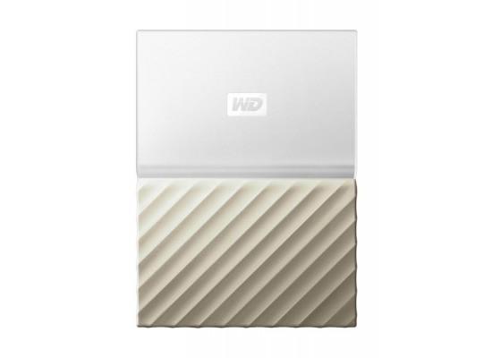 WD 3TB My Passport Ultra USB 3 0 External Hard Drive - White/Gold