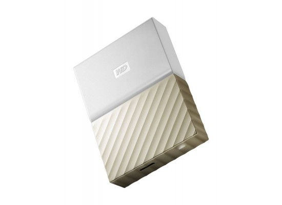 Western Digital My Passport Ultra 2TB Portable HDD (WDBFKT0020BGD) - Gold