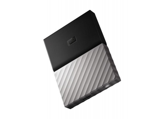 Western Digital My Passport Ultra 4TB Portable HDD (WDBFKT0040BGY) - Black Grey