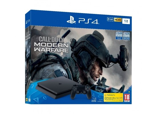 Playstation 4 1TB + Call of Duty: Modern Warfare