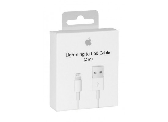 Apple MD819 Lightning to USB Cable 2M - White