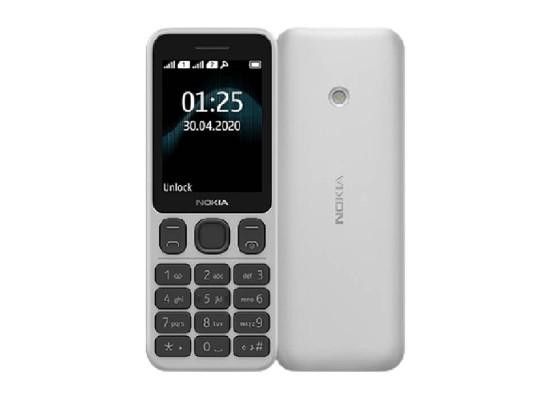 Nokia 125 TA-1253 4MB 2G Phone - White