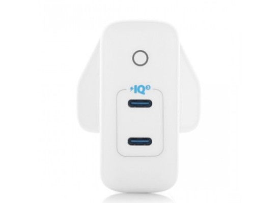 Anker PowerPort III Duo 40W Wall Charger White buy xcite kuwait