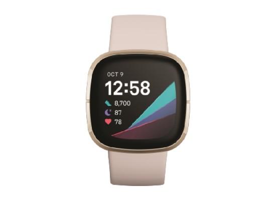 Fitbit Sense Smart Watch - White / Gold