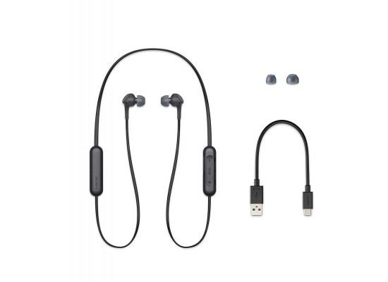 Sony Extra Bass Wireless In-Ear Earphone (WI-XB400/BZE) - Black