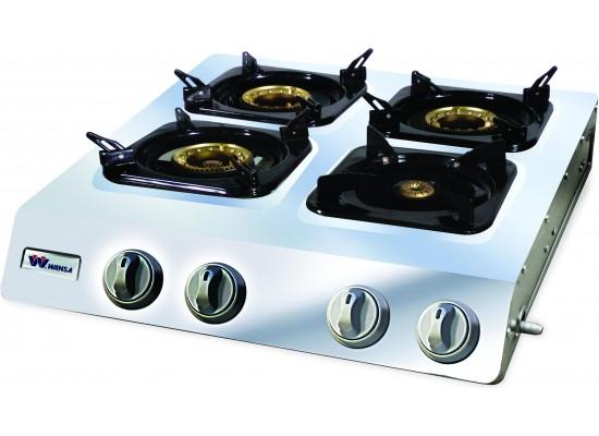 Wansa TE-0001 Gas Stove 4 Burners