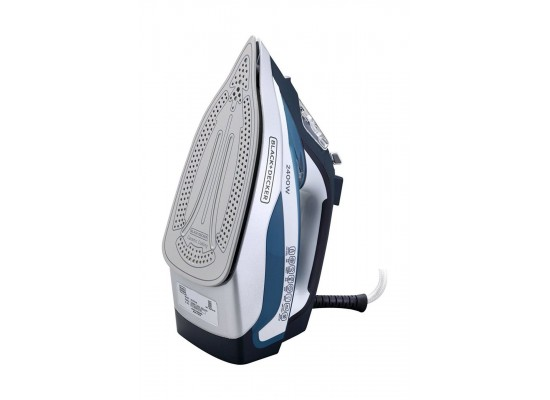 Black+Decker Steam Iron 2400W (X2150-B5) - Blue