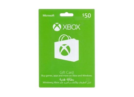 Xbox Gift Card $50 (US Account)