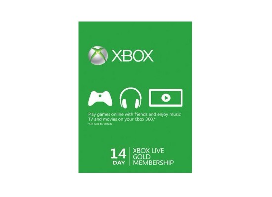 Xbox Live 14-Days Gold Membership Card (US Account)