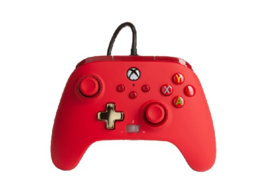 PowerA Enhanced Xbox Series X S Wired Controller - Bold Red