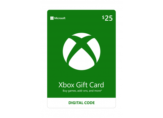 Microsoft Xbox Live - (25USD)
