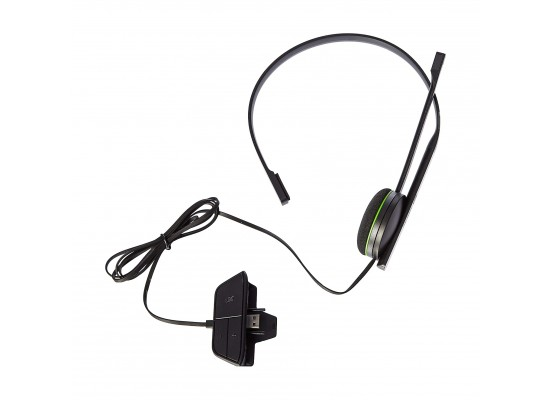 Xbox One Chat Wired Headset - Black