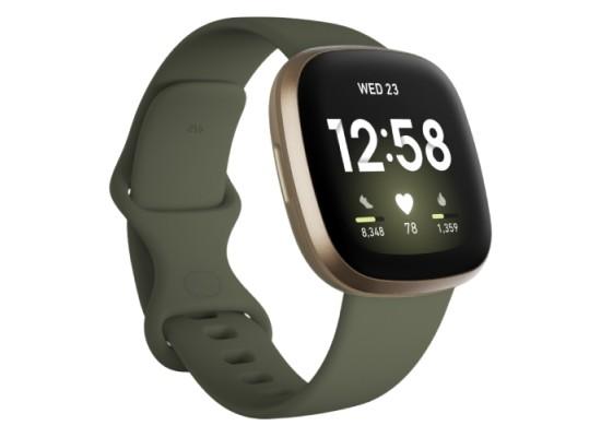 Fitbit Activity Tracker Versa 3 - Olive/Soft Gold