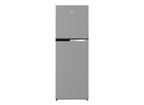 Beko 9 CFT Top Mount Refrigerator (RDNT300XS) - Silver