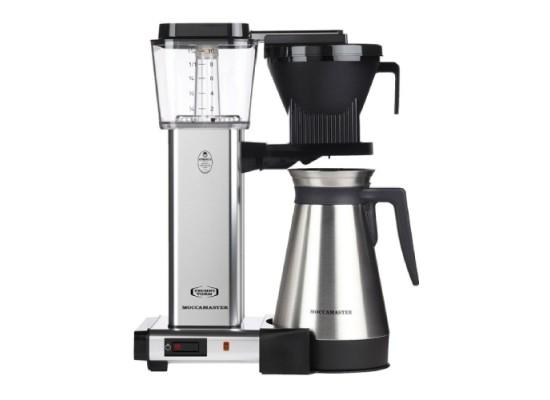 Moccamaster KBGT 1450W Coffee Maker – Polished Sliver