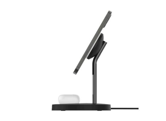Belkin 15W 2 in 1 Wireless Charger Stand – BlackBelkin 15W 2 in 1 Wireless Charger Stand – Black