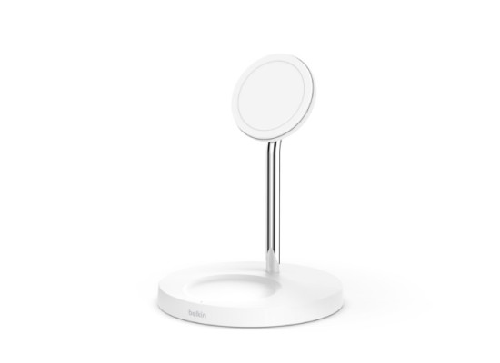 Belkin 15W 2 in 1 Wireless Charger Stand – White