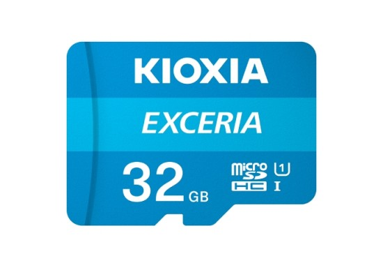 KIOXIA EXCERIA MicroSD 32GB Card - (LMEX1L032GG2)