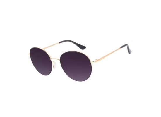 Chilli Beans Round Gold Sunglasses - OCMT2907