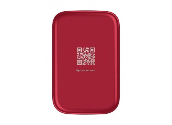 HP Sprocket Portable Photo Printer (Z3Z93A) - Red