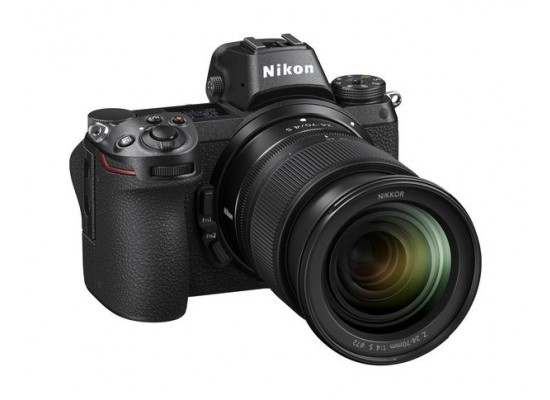 Nikon Z 6 Mirrorless Digital Camera With 24-70mm Lens