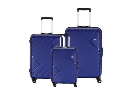 Kamiliant Zakk Spinner Hard Luggage Set Of 3 - Royal Blue