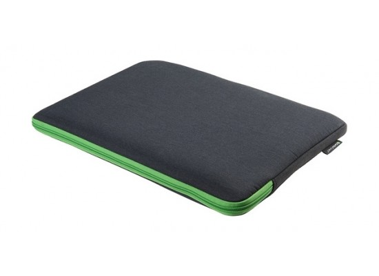 Gecko Universal Zipper Sleeve 15'' Laptop Cover - Dark Grey