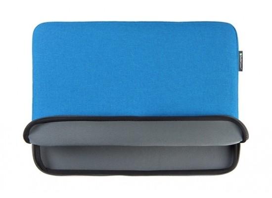 Gecko Universal Zipper Sleeve 15'' Laptop Cover - Blue