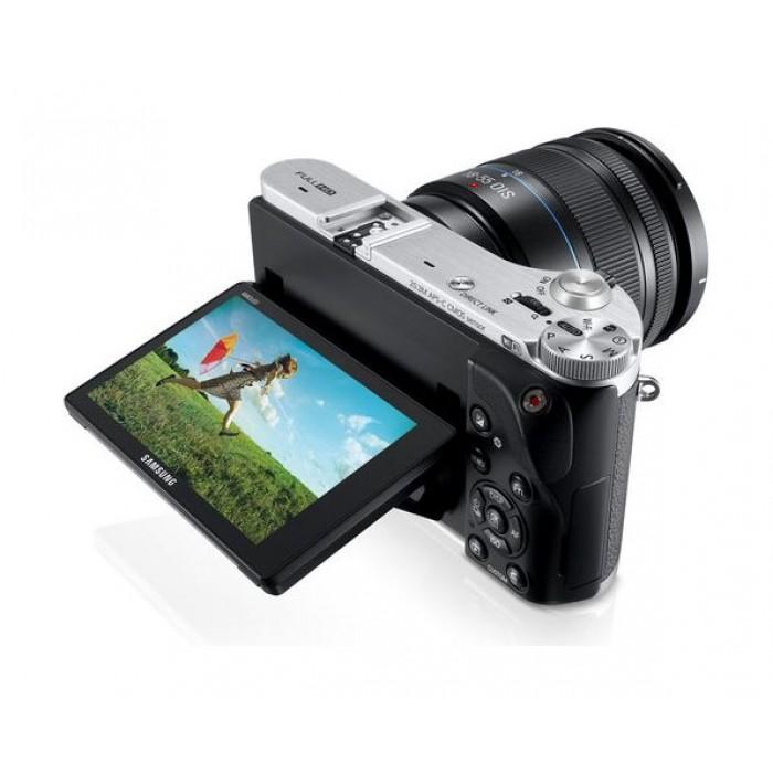 Samsung 20MP Wifi Digital Camera - Black (EV-NX300)   Xcite